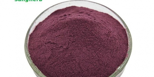 Mulberry fruit powder